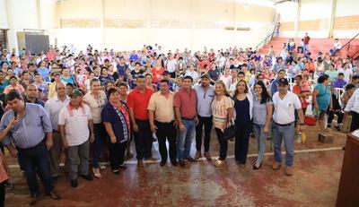 MAG invierte G 234.432.000 en proyecto productivo que beneficia a 346 familias de Guairá