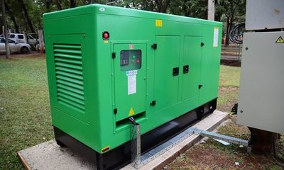 Ante apagones comuna de CDE compra generador