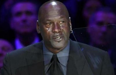 Michael Jordan se emocionó hasta las lágrimas en homenaje a Kobe Bryant