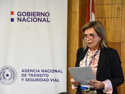 'Vamos a defender que no nos toquen dos artículos que dan vida a la Agencia Nacional de Tránsito'-  Carmen de Porro