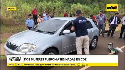 Dos mujeres fueron asesinadas en CDE
