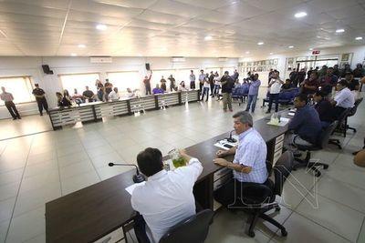 Junta gira a comisiones el pedido de ampliación presupuestaria