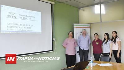 CURSO EN LAS NORMAS PARAGUAYAS EN ACCESIBILIDAD A UN MEDIO FÍSICO