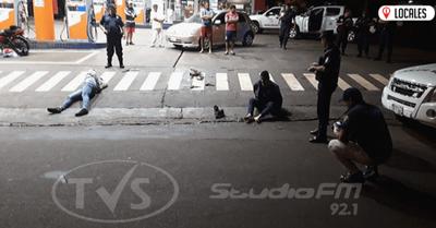 Detienen a dos delincuentes tras un asalto en Encarnación
