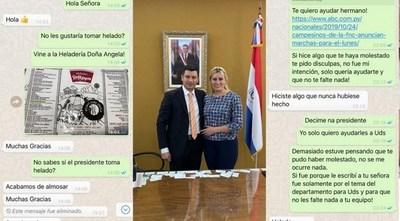 """Director de Indert fue destituido por haber invitado """"un helado"""" a pareja del presidente del ente"""