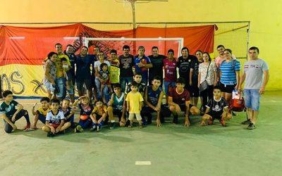 Ciudad Nueva habilita escuela de fútbol de salón