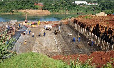 Avanzan trabajos para colocación de zapatas de torres principales del Puente de la Integración