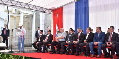 GOBERNADOR PARTICIPA DE ACTO DE CONEXIÓN DE LA LÍNEA 500 KV PARA USO DE 100% DE ENERGÍA QUE CORRESPONDE A PARAGUAY.