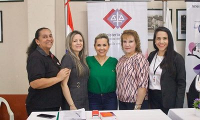 Fiscales acompañan jornada de «Ciudad Mujer Móvil» en Alto Paraná