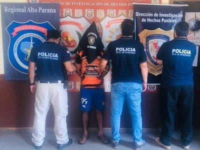 Detienen a sospechoso de asesinar a madre e hija en Alto Paraná