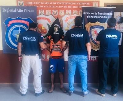 Detienen a sospechoso del doble crimen en Hernandarias