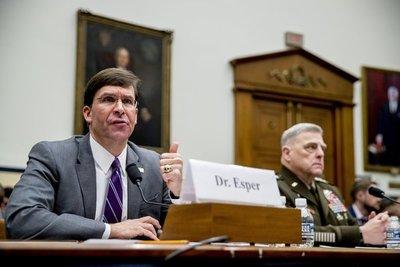 EEUU: Congreso exige no usar fondos militares para el muro