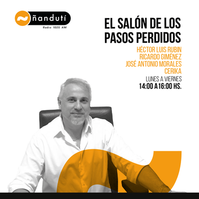El Salón de los Pasos Perdidos con Luis Rubin, José Antonio, El Arqui y Cerika