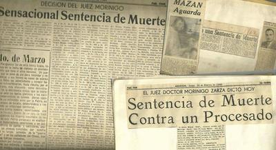 EN FEBRERO DE 1962 SE DICTÓ LA ÚLTIMA SENTENCIA DE MUERTE EN ENCARNACIÓN.