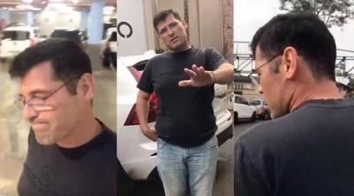 HOY / Imputan a un hombre por agredir a su esposa en un shopping