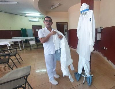 Acondicionan salas de aislamiento para casos de coronavirus