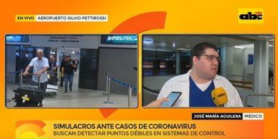 Aeropuerto cuenta con escáner que detecta cuadros febriles
