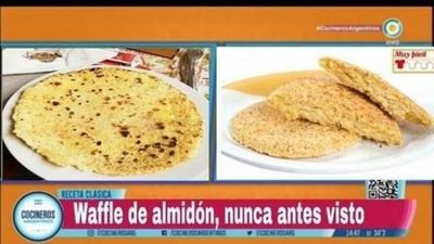 """HOY / En Argentina bautizan al mbeyu como """"waffle de almidón"""": 'catarata' de críticas"""