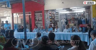 Mediante reuniones pretenden reactivar el comercio en Encarnación