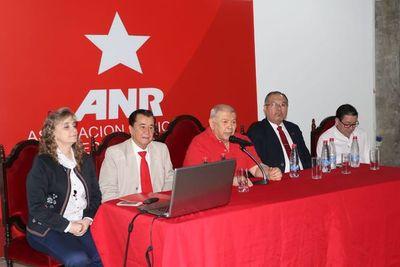 ANR informó sobre listas desbloqueadas y financiamiento político