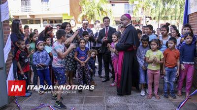 MINISTERIO DE LA NIÑEZ INVIERTE EN HOGAR SAN CRISTÓBAL