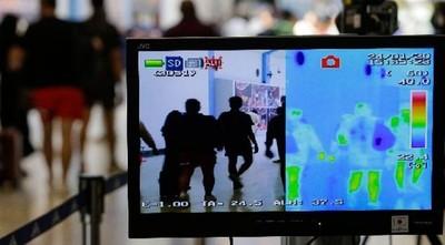 Instalan scanner para detectar posible caso de coronavirus, en el Silvio Pettirossi