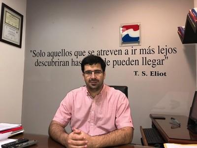 Sebastián Villarejo confirma su candidatura para intendencia de Asunción