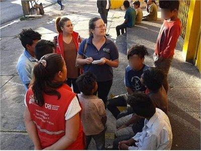 Nuevo operativo para rescatar a niños indígenas en situación de calle