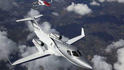 El HondaJet es el avión más entregado en su clase por tercer año consecutivo