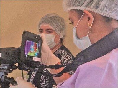 En Aeropuerto instalan escáner para detectar cuadros febriles