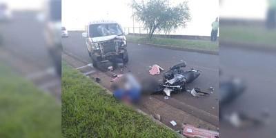 VIOLENTO ACCIDENTE EN ZONA DE LA COSTANERA SAN ISIDRO.