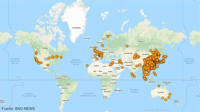 La OMS reporta 82.294 casos confirmados del nuevo coronavirus en el mundo