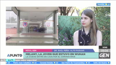 """HOY / La paraguaya que estuvo en  Wuhan, foco del coronavirus:  """"Era una ciudad muy bonita"""""""
