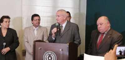 Carlos Altermburger asume como nuevo viceministro de Seguridad Interna