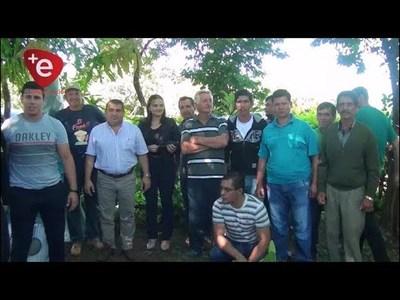 MUNICIPIO ENTREGA KIT DE RIEGO A PEQUEÑOS PRODUCTORES DE ENCARNACIÓN
