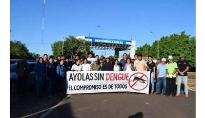 Continúa jornadas de limpieza antidengue en Ayolas