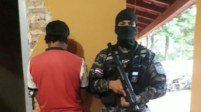 San Ignacio; Grupo Lince detuvo a un hombre que poseía orden de captura