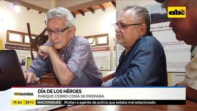 Parque Cerro Corá se prepara para el Día de los Héroes