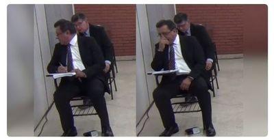 """Postulantes al cargo de ministro de la Corte se """"soplan"""" durante examen escrito"""