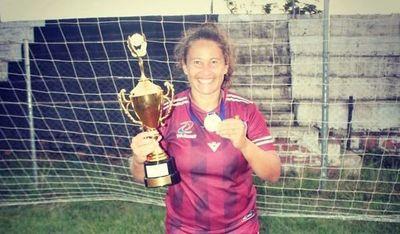Vicky Acosta, gran exponente del fútbol femenino de Misiones