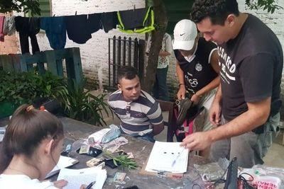 Caen microtraficantes en el barrio Tacumbú