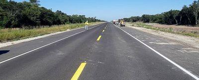 Inauguran hoy  primeros 36 km de asfalto de A. Paraguay