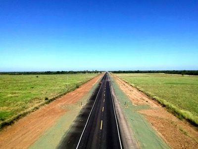 Corredor Bioceánico: inauguran 64 km de asfalto en Alto Paraguay