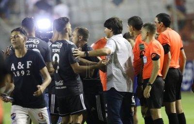"""Sebastián Rambert de Olimpia: """"Fue un partido traumático"""""""