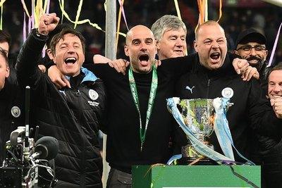El City conquista su tercera Copa de la Liga consecutiva