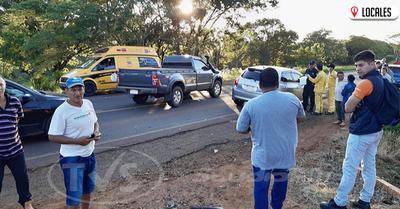 San Luis del Paraná: Grave accidente de tránsito acabó con la vida de un adulto mayor