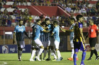 Guaraní no se relaja y golea a Luqueño