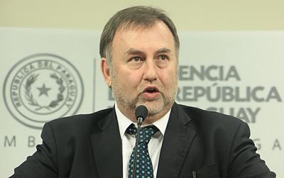 Ministro de Hacienda de Paraguay candidato a presidente del BID