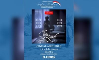 """Última exposición del documental """"Eliza Lynch"""" será esta noche"""
