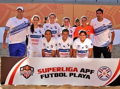 Programadas las primeras fechas del Campeonato de Fútbol Playa Femenino